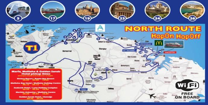 North Route Citysightseeing Malta Explore Malta On Our